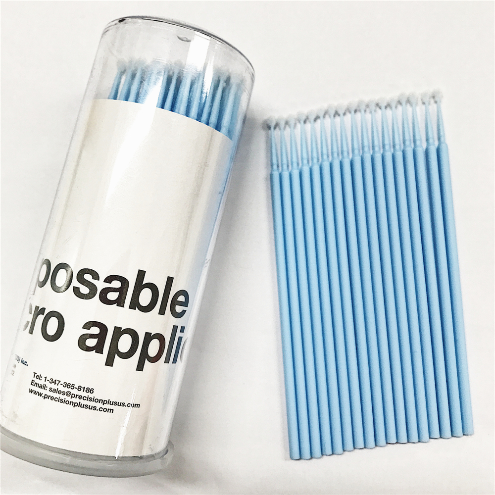 200 pieces S-M-L Micro Disposable Swab Brush Applicator Eyelash Extension Cotton Swab Makeup Tools Free Shipping