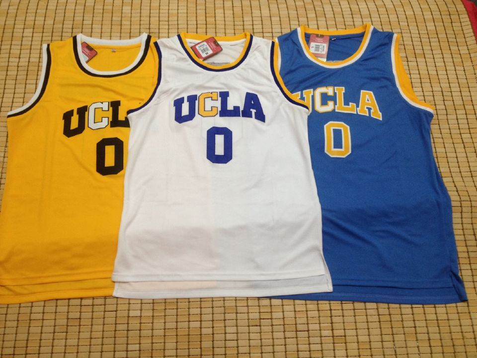 save off 43073 1defc ucla bruins 0 russell westbrook blue jersey