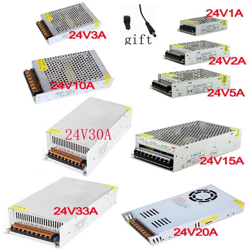 vusum 24V 1A 2A 3A 5A 10A 15A 20 30A 33A Switching power supply 24v power supply 24v power supply ld dhl ems power source vtc24sa 24v 3 2a a1
