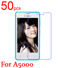 50pcs glossy Ultra Clear Matte Nano anti Explosion LCD Screen Protector Film Cover For Lenovo A5000