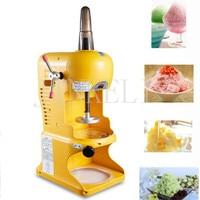 Free Ship Utomatic Snowflake Ice Shaver Machine ABS Plastic Ice Crusher Machine Electric Ice Shaving Machine