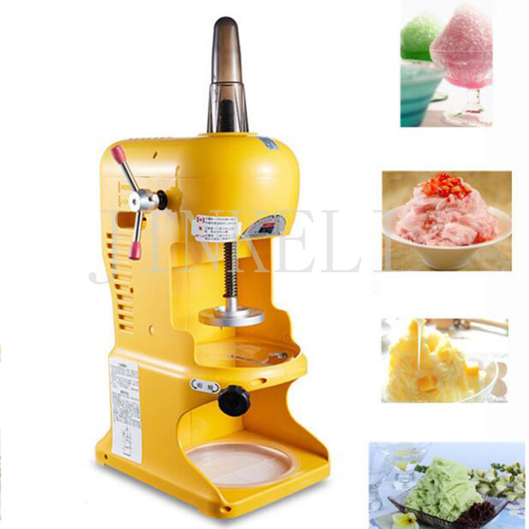 free ship utomatic snowflake Ice Shaver machine,ABS Plastic Ice Crusher Machine,electric ice shaving machine Snow Cone Maker ice shaving machine snow cone maker for milk tea shop