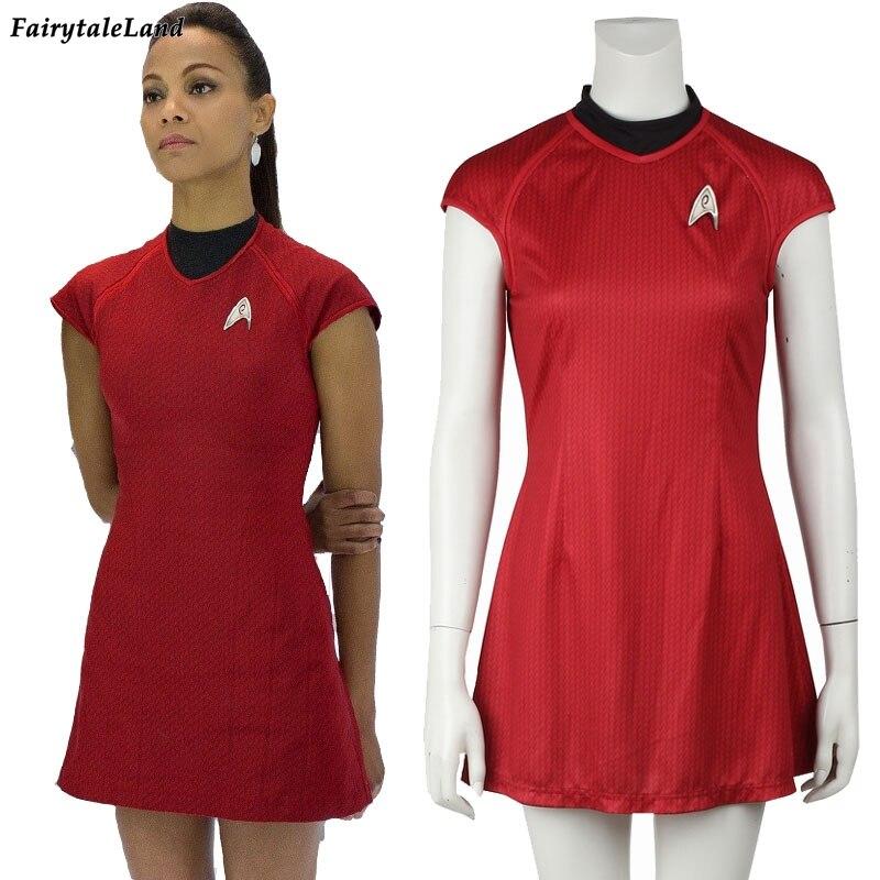 29bb4234053 nyota uhura costume с бесплатной доставкой на AliExpress.com