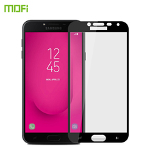 For Samsung Galaxy J4 2018 Tempered Glass MOFI Full Screen Coverage Tempered Glass For Samsung J4 2018 Screen Protector Film mofi for for zte nubia z17s nx595j tempered glass full screen coverage tempered glass screen protector protective film