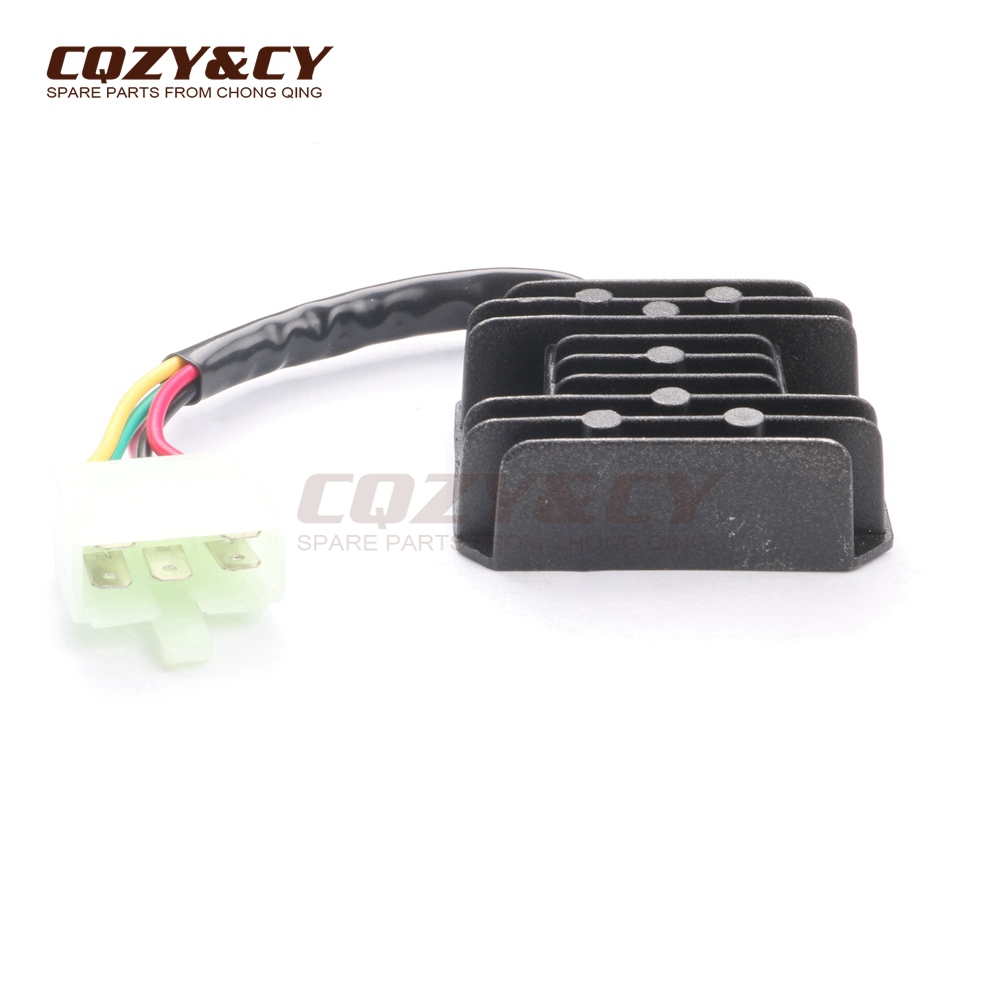 voltage regulator rectifier 5 wires 5 pin 12v for kymco agility 2tas professional scooter motorcycle parts china supplier for 10years, we pursuing high quality \u0026 competitive price