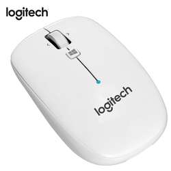 Logitech oryginalny M558 bezprzewodowy mysz Bluetooth z ponad 1000 DPI bezprzewodowa mysz dla komputerów Mac/Windows 10/8/7 PC/myszka do laptopa dla graczy Gamer