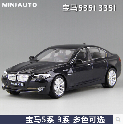 New 535i 535Li M5 1 24 welly FX 5 series Original simulation of high quality alloy