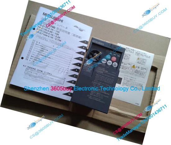 NEW Original Inverter FR-E720S-0.75K-CHT 220V 200~240V 5A 0.75KW 0.2~400Hz