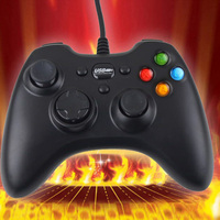 Newest High Standard Fashion Design Useful USB Wired USB Game Controller Joystick Gamepad For PC Laptop