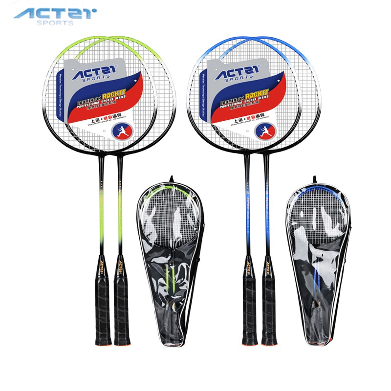 2018 ACTEL BR200 Light And Durable Racketferroalloy Badminton Rackets General Purpose Racquet