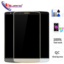 Original 5.5 Screen for LG G3 D850 LCD Display Touch Screen Digitizer Assembly Replacement Screen for G3 D851 D855 аккумулятор для телефона ibatt bl 53yh для lg d855 g3 d690 d690 g3 stylus d851 g3 d850 g3 d856 lg g3 dual lte vs985 g3 ls990 g3 d690n f400 g3 aka