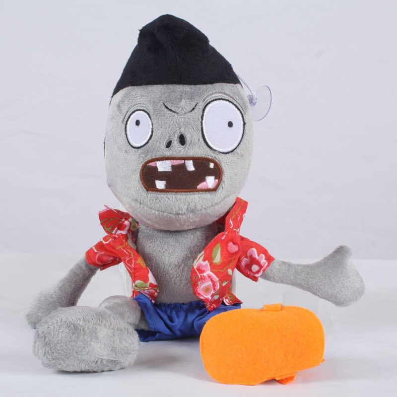 Novità del 30 cm PVZ Piante Vs Zombie Peluche Giocattoli Aereo Testa Zombie Peluche Bambole Giocattolo Per I Bambini Regalo