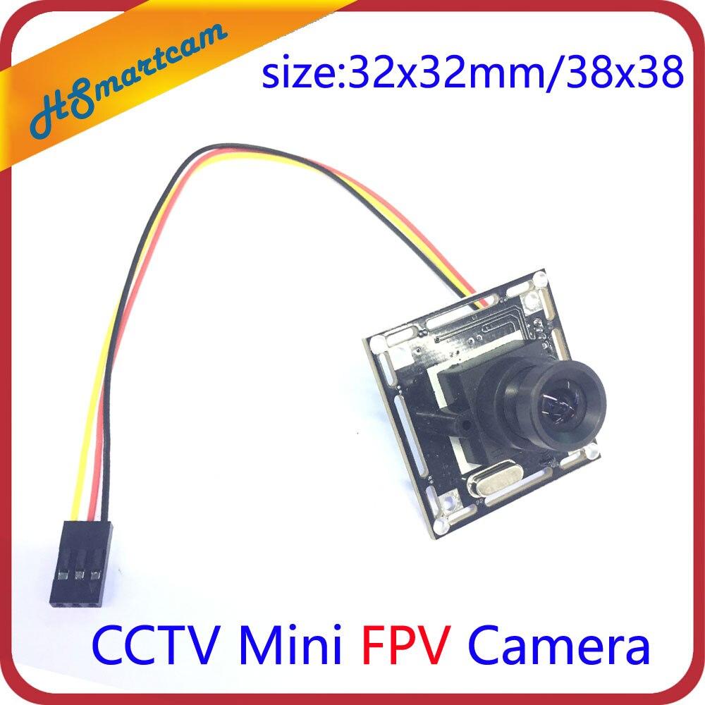 HD 2.8mm Wide angle 1000TVL 1/3 800TVL COMS 3.6mm Mini FPV Camera For RC Quadcopter Drone FPV Photography security cctv camera