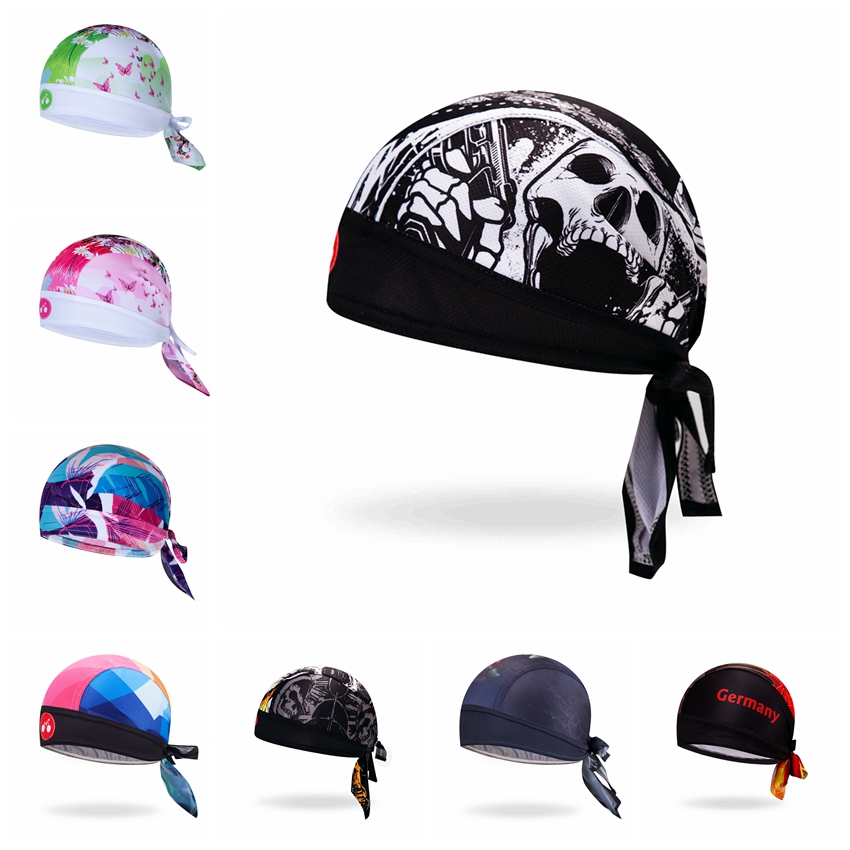 New cycling Bicycle Pirate Scarf MTB Sports Hat riding Cap Bike Headscarf