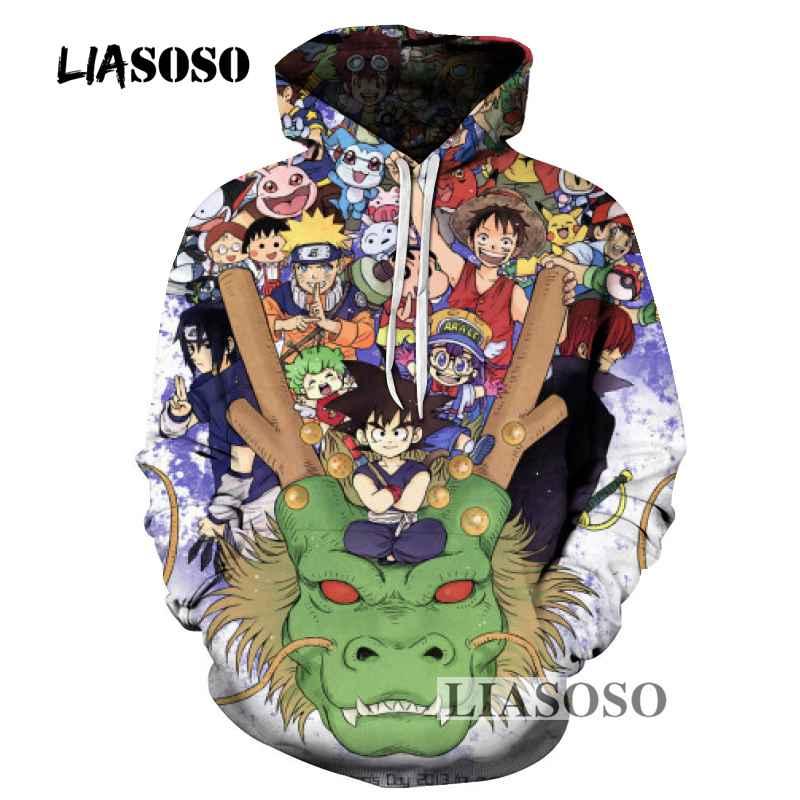 Hoodies & Sweatshirts Dependable Liasoso New Monkey D Luffy Hoodies 3d Men Women Sweatshirts Hip Hop Pullover Autumn Thin Tracksuits Outwear Casual Cartoon R3613 Fashionable Patterns