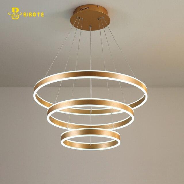 Moderne Kronleuchter Led luxus moderne kronleuchter led kreis ring kronleuchter licht für