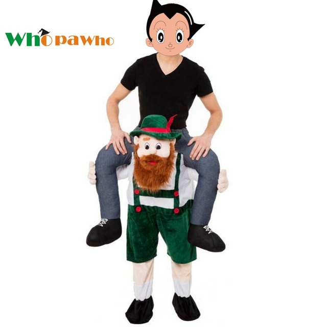 Christmas Fancy Dress Funny.Us 43 12 20 Off Adult Ride Teddy Bear Cosplay Costume Halloween Costumes Funny Christmas Fancy Dress Mascot Frog Pants Beer Clothes In Movie Tv
