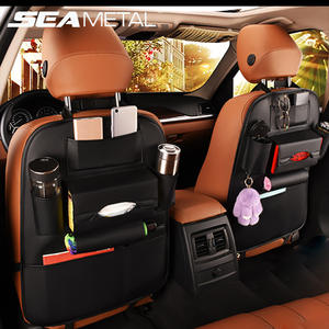Car Seat Back Storage Bag Organizer Kids Drink Auto Accessoires Travel Box Pocket