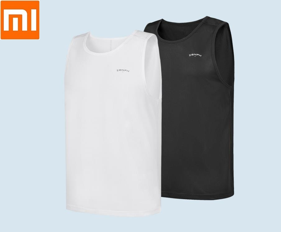 Xiaomi Men's Sports Quick drying Vest Sfot Moisture Absorption and Quick Drying Breathable Sleeveless Fitness Undershirt-in Smart Remote Control from Consumer Electronics