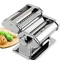 Large Multi function Manual Noodle Machine Household Split Noodle Maker Stainless Steel Hand Pressure Dumpling Cover Machine