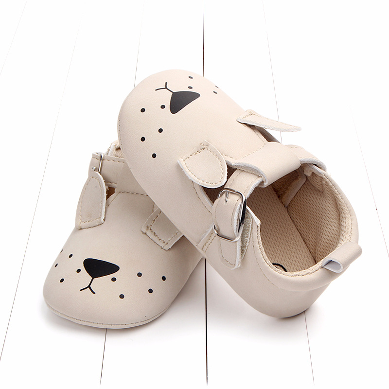 Baby First Walkers Matte leather Shoes for Baby Girl Boy Cartoon Animal Newborn Slippers Footwear Booties Kids Gift Child Shoes (7)