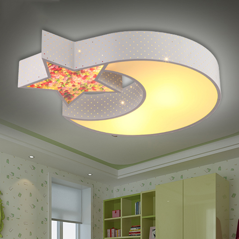 Cartoon moon star ceiling lamps child baby bedroom lights creative cartoon moon star ceiling lamps child baby bedroom lights creative study living room decoration lighting in ceiling lights from lights lighting on aloadofball Image collections