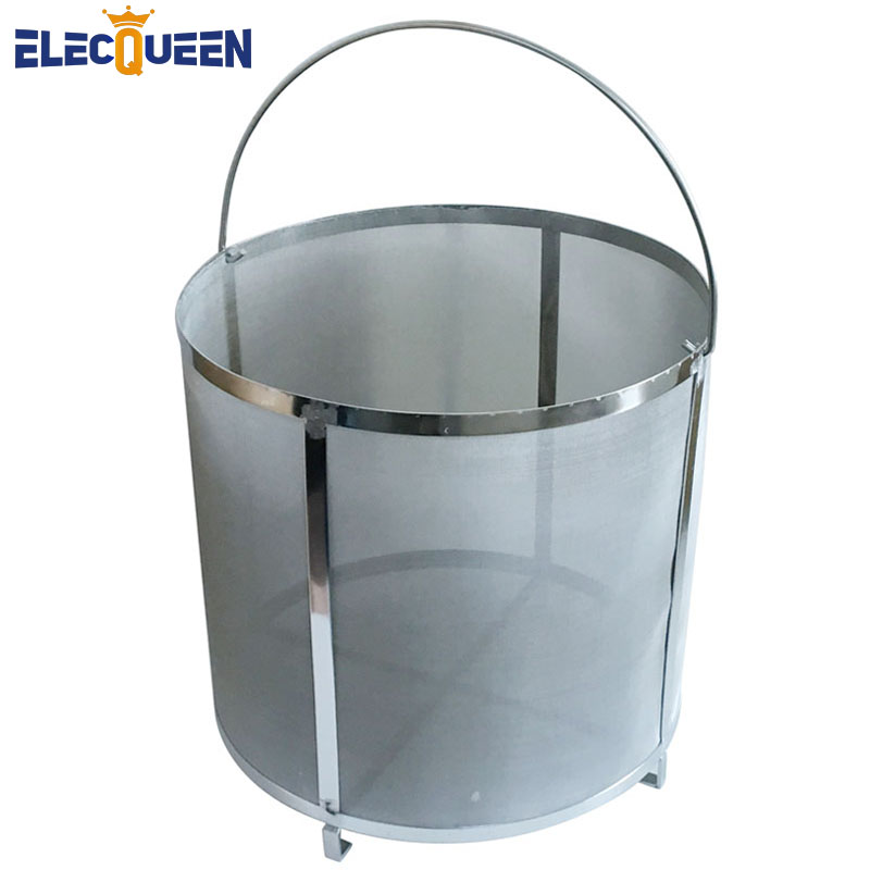 Homebrew hop filter stainless steel strainer pot 300 mesh with Handle wonderful design for homebrewers