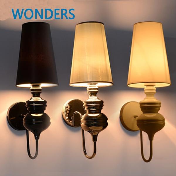 Spain Jaime Hayon Classic Design Josephine Lamp classical iron  Wall Lamp black/golden/white/silver  Bedroom with LED bulb gift бра josephine 5d 37 x 58 прозрачный
