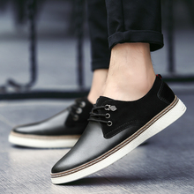 2018 New Mens Professional Shoes Men British Business Casual Korean Version of The Young Black Size 38-46  5