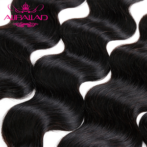 Image 5 - Aliballad Brazilian Hair Weave Bundles Body Wave Hair 4 Pcs/Lot Remy Hair Extensions Natural Color 100% Human Hair Weaving