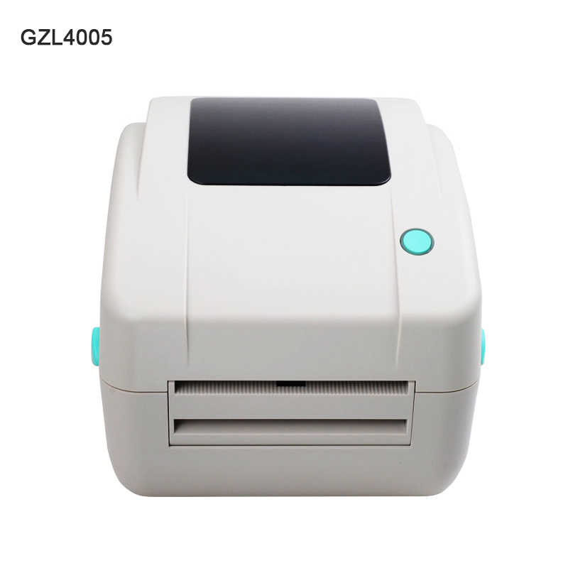 GZL4005 wholesale brand new thermal bar code QR code label printer high quality clothing tags supermarket price sticker printer supermarket mall cafe cashier printer new thermal printer can print bar code small printer dtp360