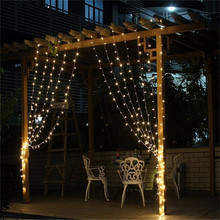 3M x 3M 300 LED Outdoor  String Fairy Curtain Lights