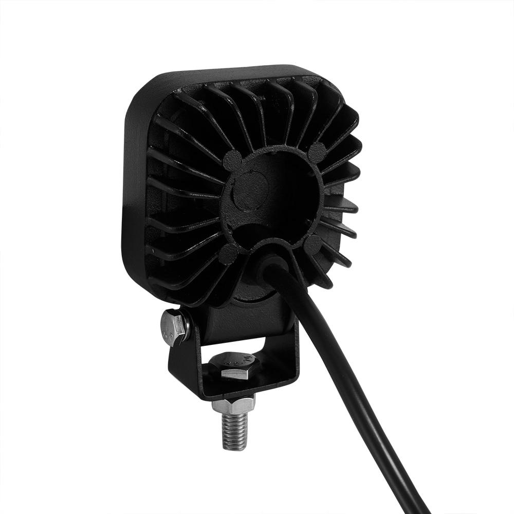 60 graden mini 12W 4 x 3W auto LED-lichtbalk als werklamp / - Autolichten - Foto 4