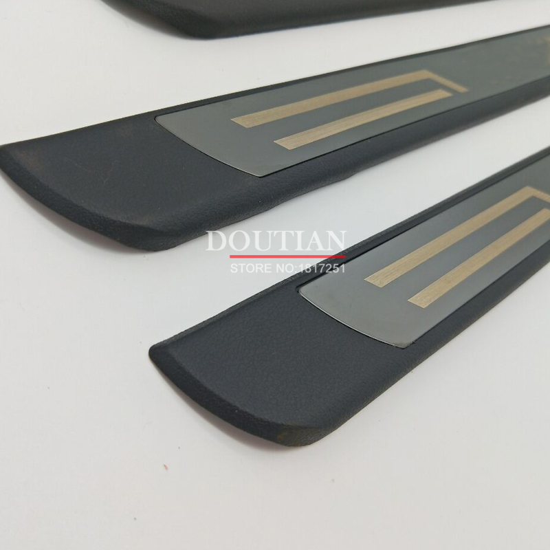 DOUTIAN Stainless steel scuff plate door sill Trim Car Accessories car styling For VW Tiguan MK2 2017 2018 2016