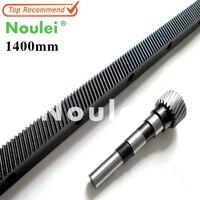 1.25 mod cnc gear rack ( Oblique teeth ) cnc router rack Length 1400mm with pinion.