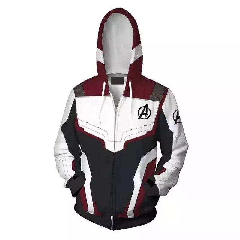 Cross-border New 4 Iron Man Tony Hoodie. Quantum War Suit Concept  Style  Parent-child Outfit Zipper Hoodie Sweatshirt