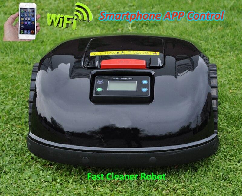 Machine De Coupe d'herbe E1600T avec LE PLUS RÉCENT Plus Intelligent Gyroscope Fonction 600 m câble virtuel et 600 pièces chevilles + 24 pièces supplémentaires Sans lame