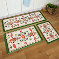 House Mat Door Doormat Hall Bathroom Kitchen Rug and Toilet Mat Strip Absorbent Anti-Slip Korean Style Carpet