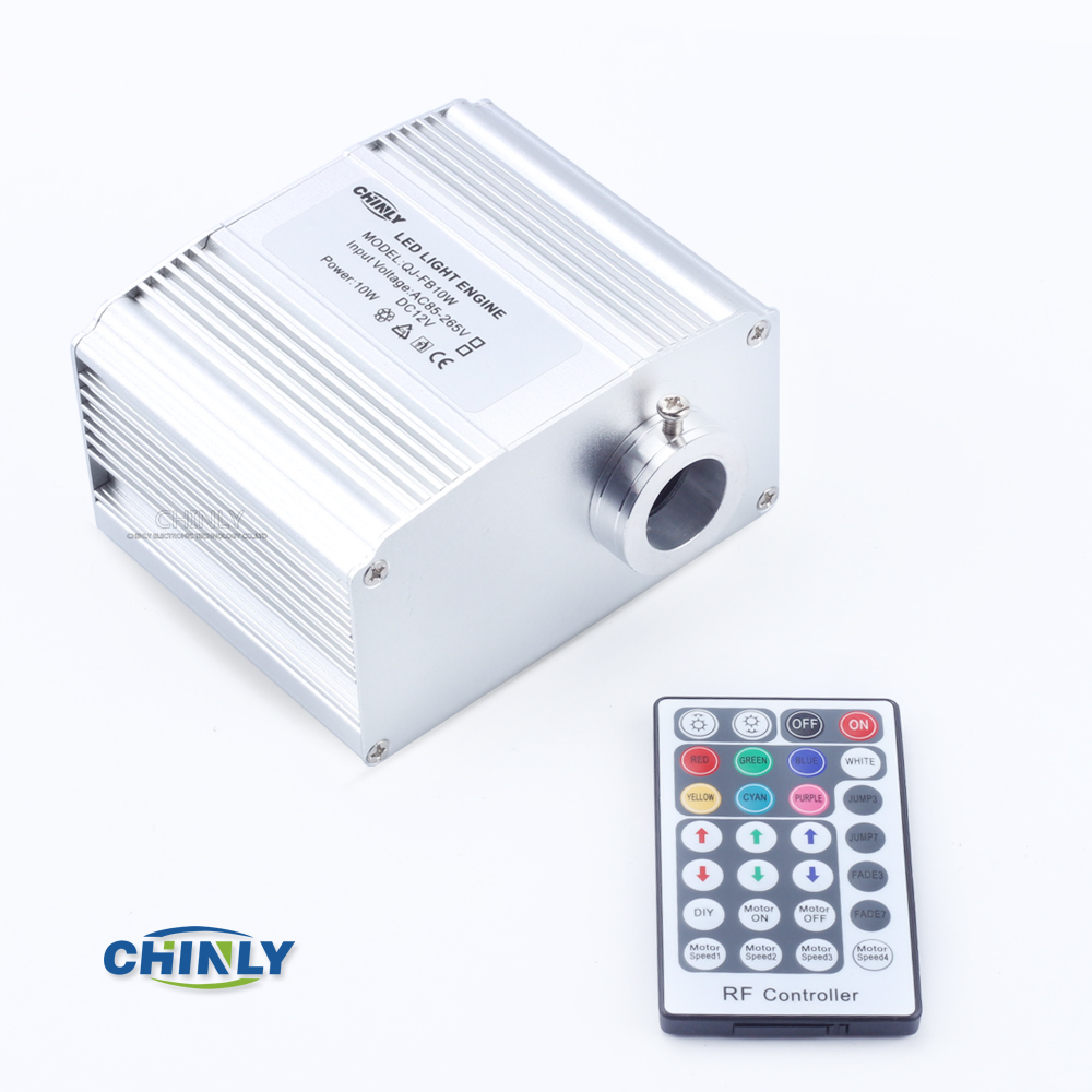 CREE chip 10W RGBW LED twinkle Fiber Optic Engine Driver with 28key RF Remote controller for all kinds fiber optics 2016 new rgbw 16w led fiber optic engine driver with 28key rf remote controller for all kinds fiber optics