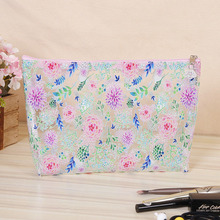 PVC Cosmetic Bag Transparent Waterproof Wash Storage Finishing Package