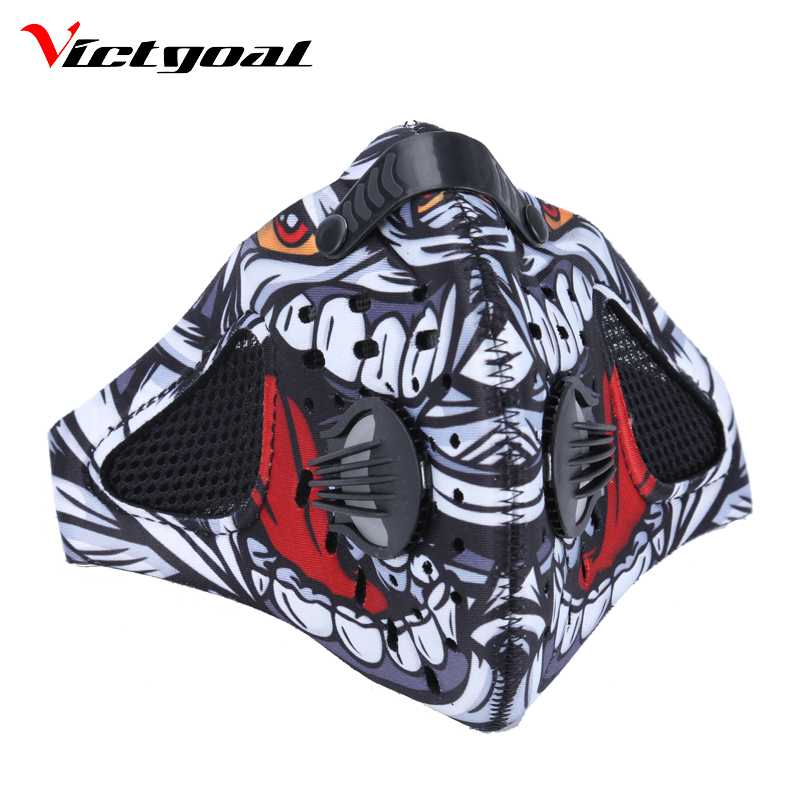 VICTGOAL Cycling Mask Anti-Pollution Mouth-Muffle Dust Sports Mask Dustproof Mountain Road Bike Running Masks Face Cover