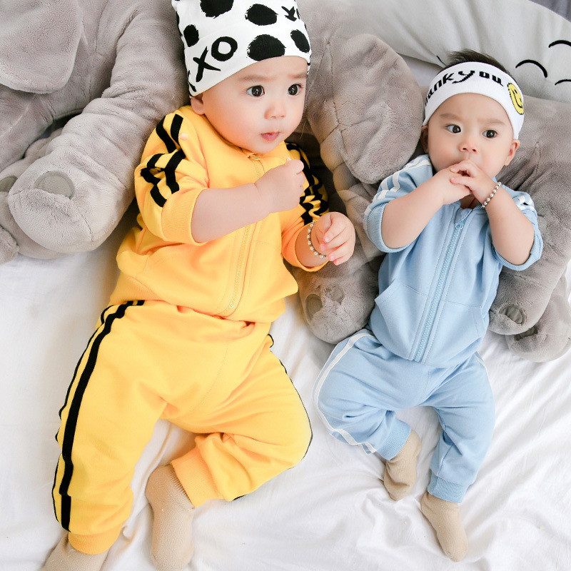 Baby girl clothes Roupa infantil Baby boy clothing sets Newborn Cotton sports set Spring Autumn 2017 babies Jacket+pants suit книги эксмо gakken 3 рисование пастельным карандашом