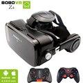 Bobovr z4 mini caixa de óculos de realidade virtual óculos 3d google vr BOBO de papelão VR Z4 com Fone de Ouvido para 4.3-6.0 polegada smartphones