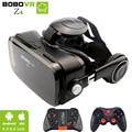 Bobovr z4 mini caja gafas de realidad virtual gafas 3d google vr BOBO de cartón VR Z4 con Auriculares para 4.3-6.0 pulgadas smartphones
