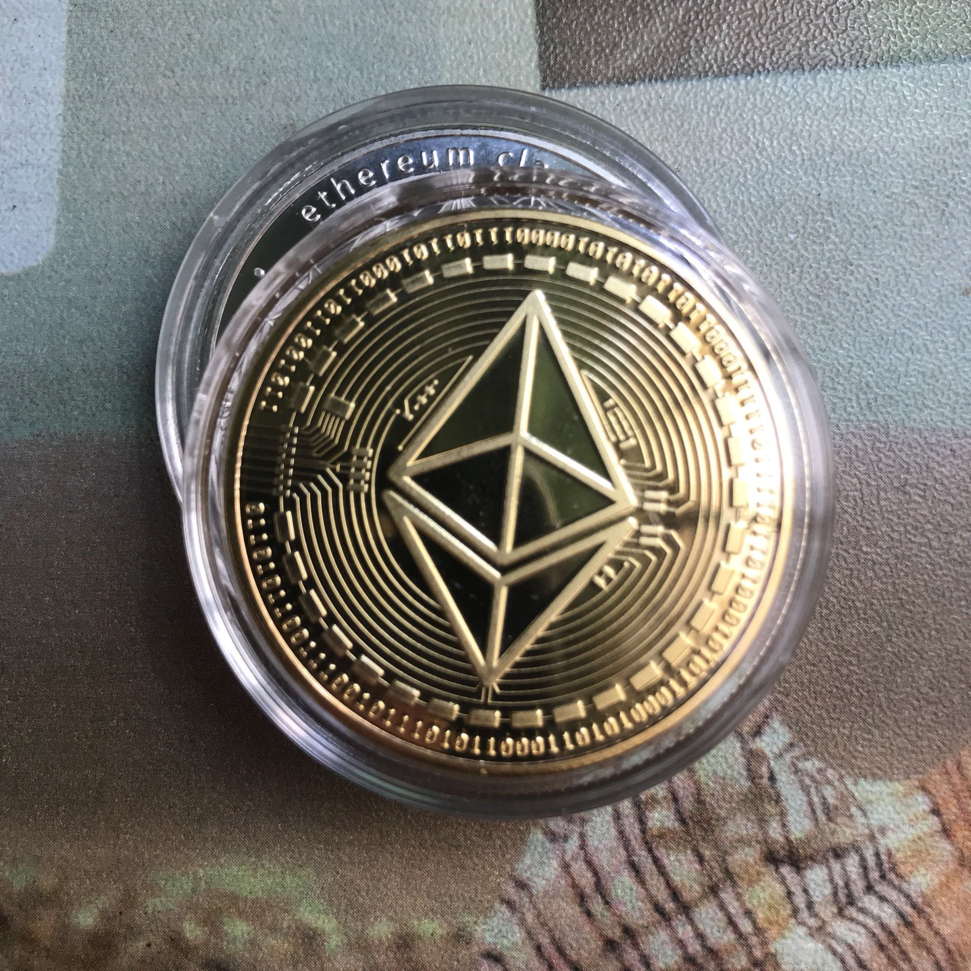 Ethereum Crypto Ethereum Ether American Commemorative Coin Non-currency Coin Collection  ...