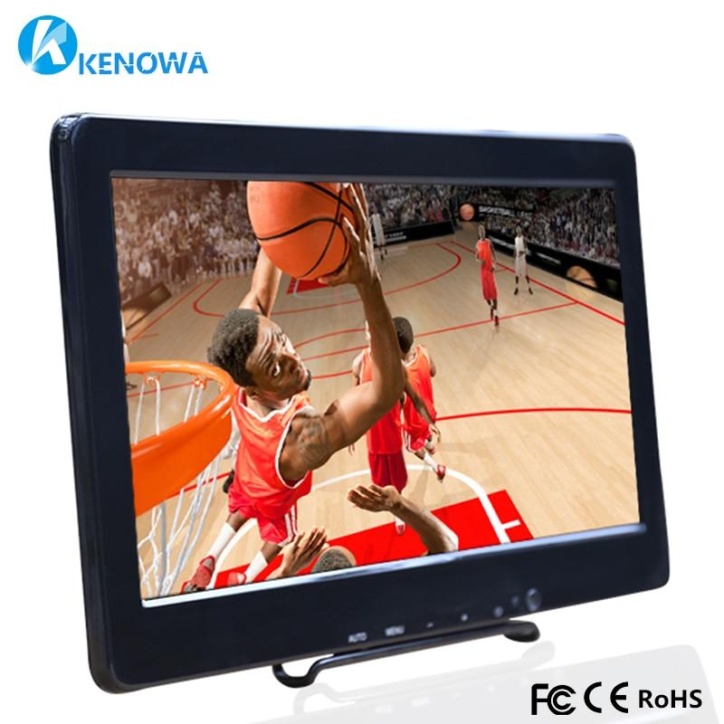 13.3 Inch HD Monitor 1920x1080 LCD Screen Panel PS3 PS4 Xbox360 Display Monitor HDMI/VGA/AV/USB for Raspberry Pi Windows 7 8 10