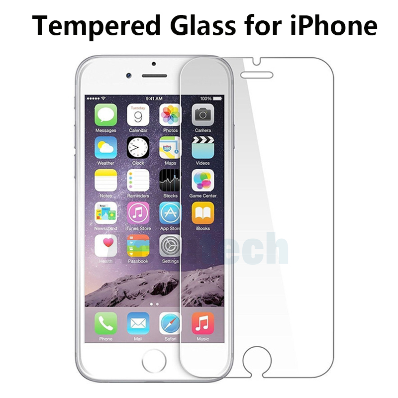 Tempered Glass For IPhone 5 S 6 S 7 8 Plus X XR XS Max Protection Glass Screen Protector For IPhone XS Max Protection Glass Film