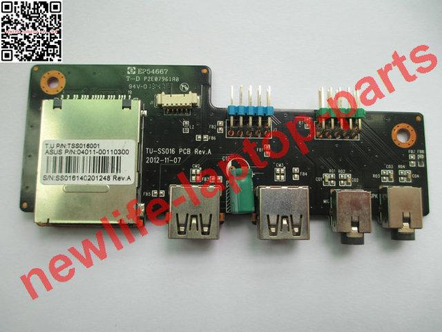 Do laptop original placa de áudio usb TU-SS016 TSS016001 04011-00110300 bom teste frete grátis