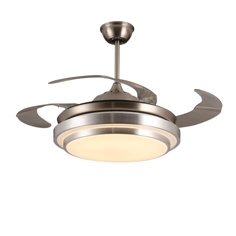 Ky144 Retro Remote Control Light Ceiling Fan Led