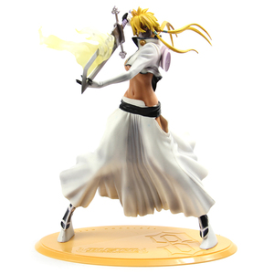 Hot Sale 32cm Figurine Arrancar Tercera Espada Tear Halibel Sexy Girl Bleach PVC action figure toys free shipping(China)